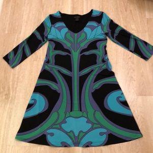 Rare groovy dress by Eva Varrow xs